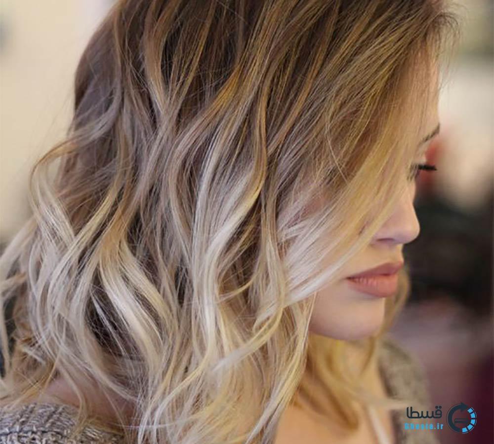 رنگ و هایلایت مو